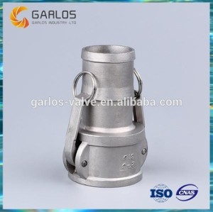 Camlock quick connect coupling