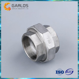 Two way Male threaded joint Pipe Fittings Union connector