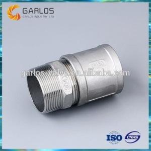 SS316 male connector hexagonal nipple