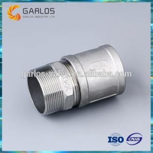 SS316 male connector hexagonal nipple