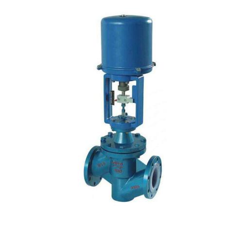 ZDLPF46 PTFE Lining Steam oil Control Regulating Valve