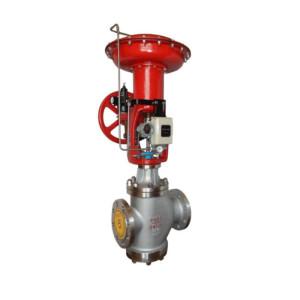 ZMAN Pneumatic diaphragm double seat steam liquid pressure temperature control valve