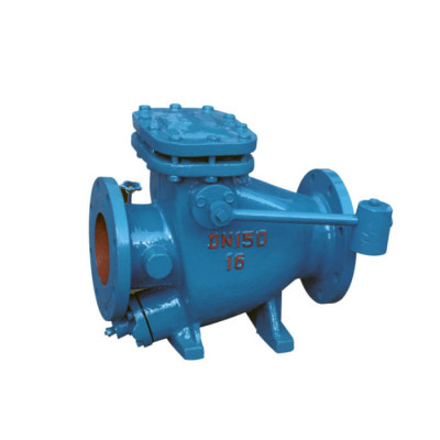 HH44X Low resistance counterweight slow closing non return check valve