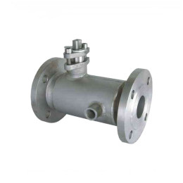 Steam jacketed insulation 2 inch WCB flanged ball valve