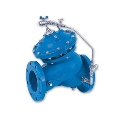 Float ball water tank control valve