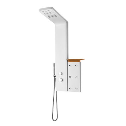 Bathroom Accessories Aluminum Massage Rainfall Shower Panel