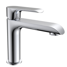Unique design widely used single handle hot cold brass tap faucet water mixer