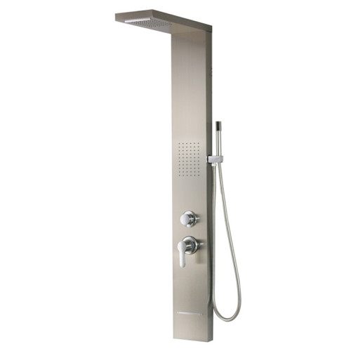 Multifunction modern upc rain shower panel