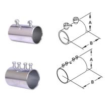 EMT Conduit fitting Steel Compression Couplings