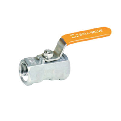 1000PSI Stainless steel corrosive liquid one piece model ball valve