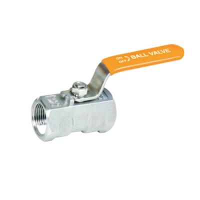 1000PSI Stainless steel corrosive liquid one piece model ball valve