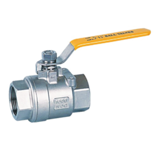 1000PSI 6.4MPa Stainless steel two piece model ball valves