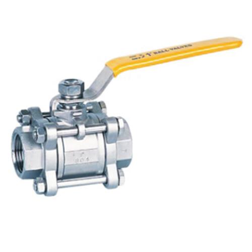 3pcs type stainless steel ball valves