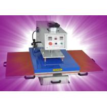 Automatic pneumatic Double-position Heat press machine for T-shirt