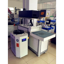 Newly research mk-2600 CO2 260w non-metallic machine 260W for buttons/craft gifts /jeans/plastic