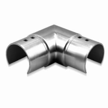 corner slot handrail connector