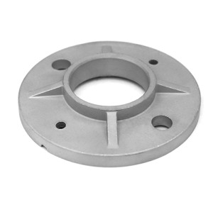 welded round casting flange