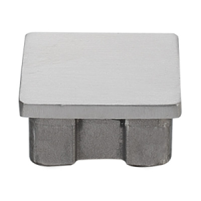 304 Stainless Steel Accessory Square End Cap