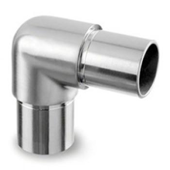 smooth radius 90°tube connector