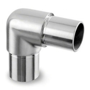 smooth radius 90°tube connector