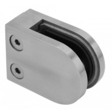 Stainless Steel Handrail System Glass clamp 40x50 flat mount