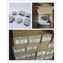 316 satin glass clamps, shipment to UK