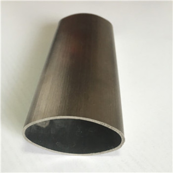 stainless steel oval tube for decoration