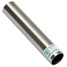 Grade 304 Brushed Stainless Steel Round Tube