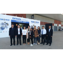 Vinmay attended TUBOTECH in Brazil