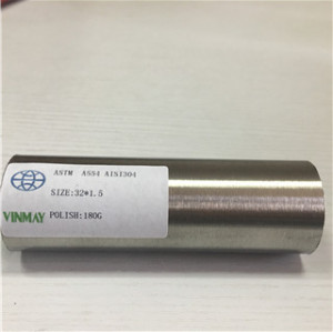 ASTM A554 316 9mm Stainless Steel Pipe