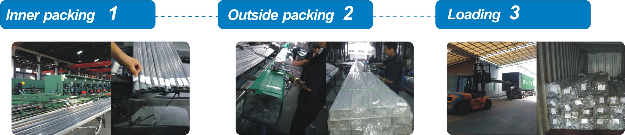 stainless steel tube packaging