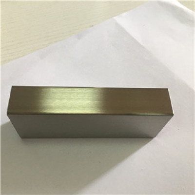 320 Grit 20x40mm Rectangular Stainless Steel Pipe