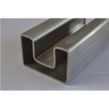 Stainless Steel square and rectangular slot tube
