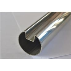 304  Mirror Finish Stainless Steel Slot Tube