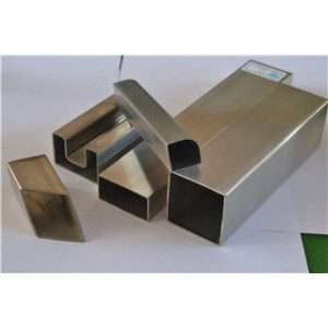 Stainless Steel 180 grit square tube