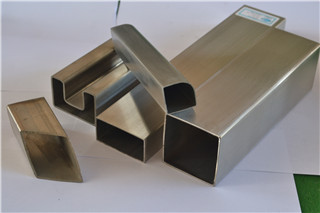 Stainless Steel tig welded square tube satin finish