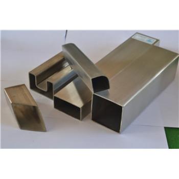 Stainless Steel tig welded square tube satin finish