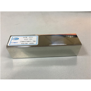 Stainless Steel tig welded square tube 600 grit