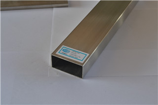 Stainless Steel tig welded rectangular tube 240 grit finish