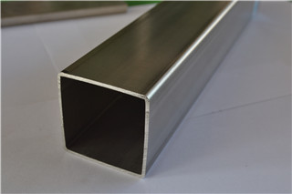 Tubo de sección hueca de acero inoxidable 316 25x25