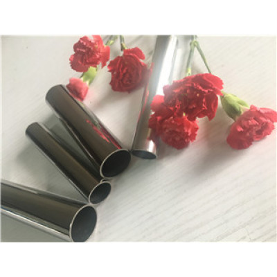 Tubo de acero inoxidable polaco decorativo Foshan 304