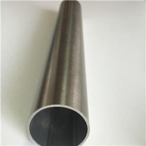 Stainless Steel tig satin finish round tube