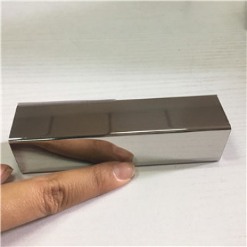 Stainless Steel mirror polishing square tube