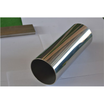 Good Perforamnce Stainless Steel Pipes Tube Round Mirror Finish for Swimming Pool Fence