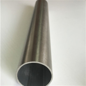 Stainless Steel tig satin finish round tube