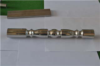 Best Selling Stainless Steel Embossed Pipe Tube 304 201 316L For Display Shelf