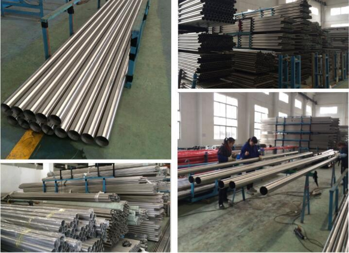 stainless steel tube workshop