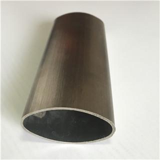 Técnicas avanzadas 304 barandillas de tubería de acero inoxidable oval