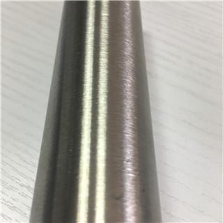 Foshan Mill 304 Satin Hair Line Tubo de acero inoxidable