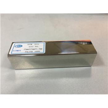 Precio por Kg por encargo de la tubería de acero inoxidable de los materiales 316L de los materiales